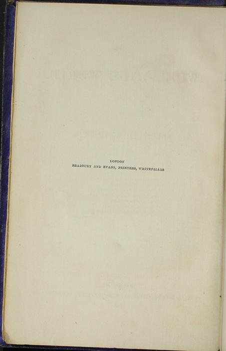 Colophon for the 1853 H. G. Bohn Reprint, Version 1