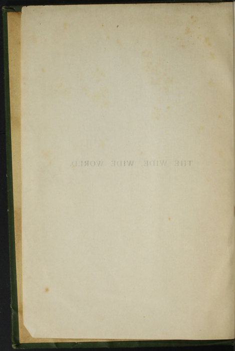"Verso of the Half-Title Page of the [1903] Ward, Lock, & Co., Ltd. ""Complete Edition"" Reprint"