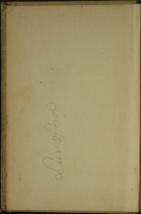 Front Pastedown of the [1902] H. M. Caldwell Co. Reprint