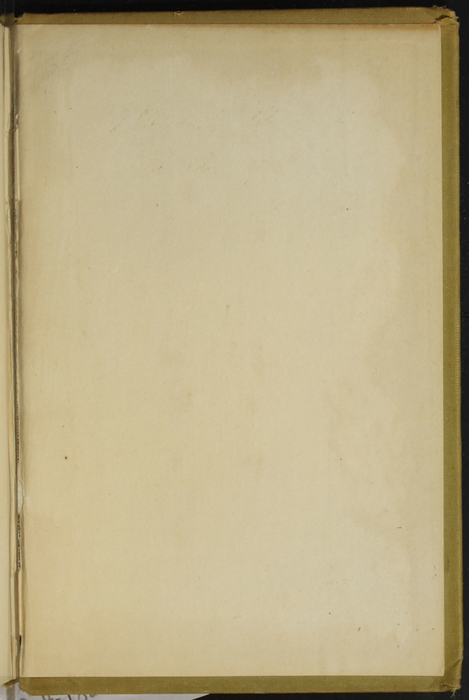 Back Pastedown of the [1907] Grosset & Dunlap Reprint, Version 3