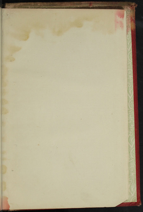 "Recto of Back Flyleaf of [1890] Frederick Warne & Co. ""Star Series"" Reprint, Version 2"