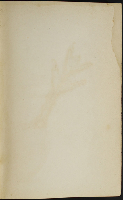 """Recto of Third Front Flyleaf of the 1880 J. B. Lippincott & Co. """"New Edition"""" Reprint"""