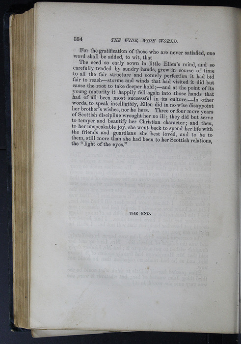 Final Page of Text in Volume 2 of the 1852 George P. Putnam 16th Edition, Version 2