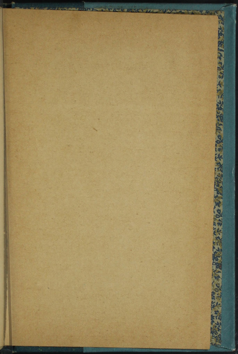 Recto of Third Back Flyleaf of Volume 1 of the [1902] Home Book Co. Reprint, Version 2