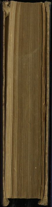 Fore Edge of the [1900] W.B. Conkey Reprint