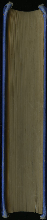 Fore Edge of the [1893] T. Nelson & Sons Reprint