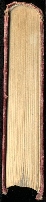 Tail of the [1899] Geo. M. Hill Co. Reprint