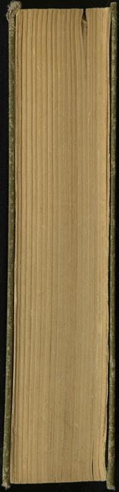 Fore Edge of the [1907] Grosset & Dunlap Reprint, Version 2