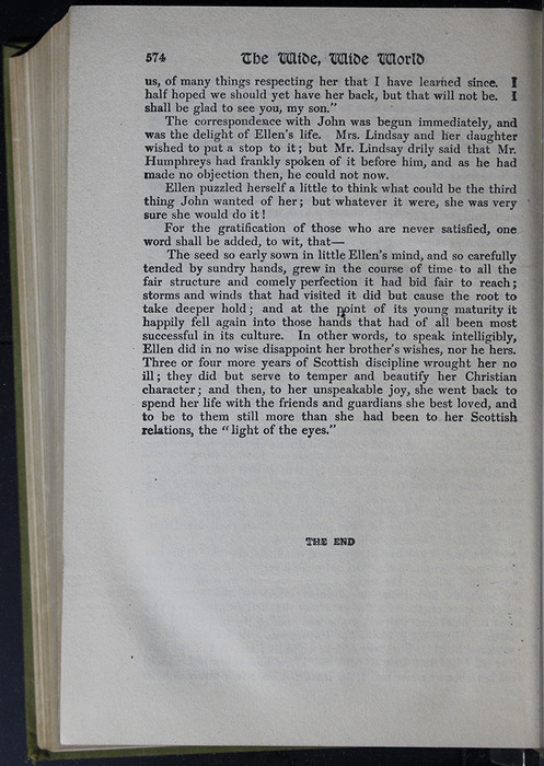 Last Page of Text in the [1907] Grosset & Dunlap Reprint, Version 4