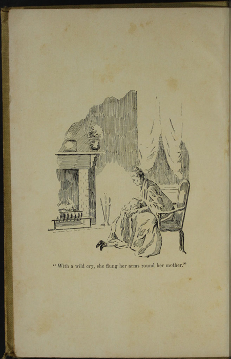 Frontispiece to the [1902] H. M. Caldwell Co. Reprint Depicting Ellen Embracing Mamma in the Parlour