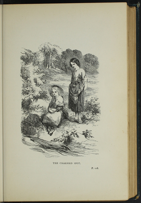 Illustration on Page 118a of the [1893] James Nisbet & Co. Reprint Depicting Nancy Finding Ellen at the Brook