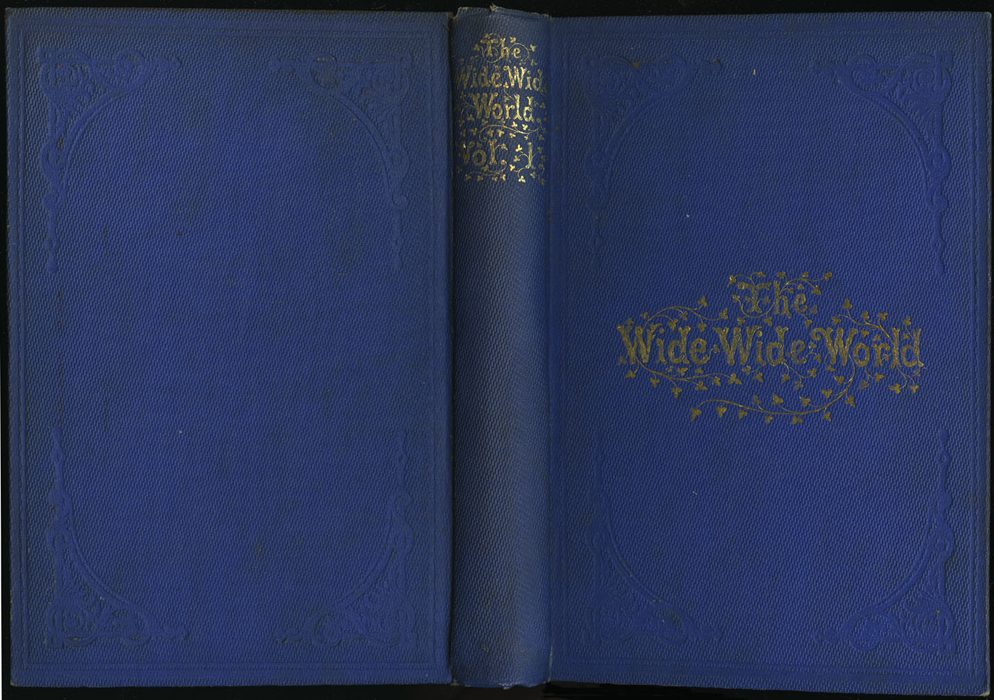 """Full Cover of Volume 1 of the 1852 James Nisbet, Sampson Low, Hamilton, Adams & Co. """"Second Edition"""" Reprint"""
