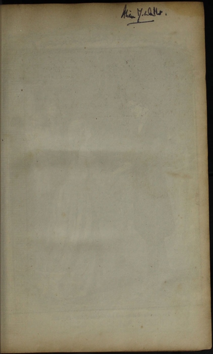 Recto of Front Flyleaf of the [1853] Clarke, Beeton, & Co. Reprint, Version 1