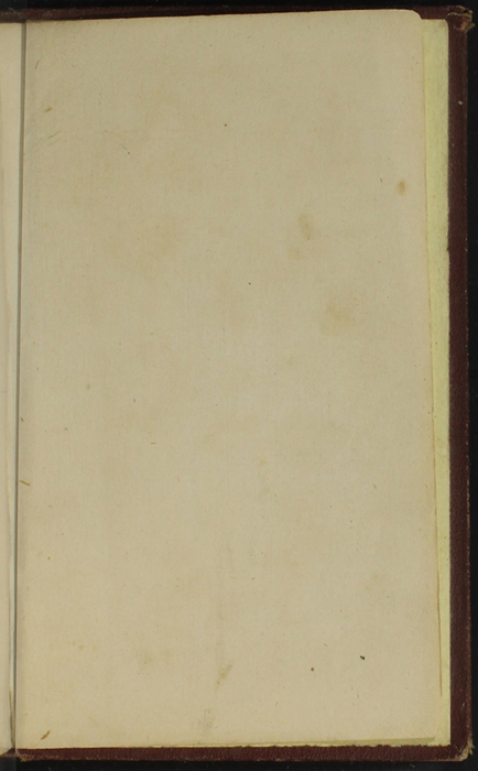 Recto of Back Flyleaf of the [1878] Milner & Co. Reprint, Version 1