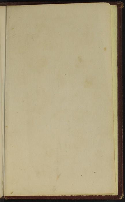 Recto of Back Flyleaf of the [1878] Milner & Co. Reprint, Version 1
