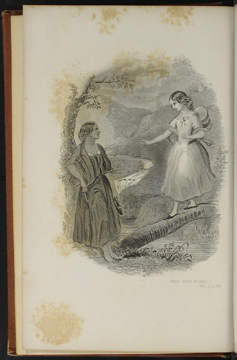 "Frontispiece to the 1891 J. B. Lippincott Company ""New Edition"" Reprint Depicting the Brook"