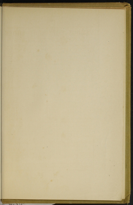 Recto of Back Flyleaf of the [1907] Grosset & Dunlap Reprint, Version 3