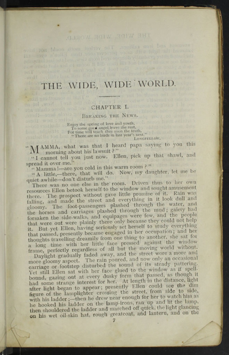 "First Page of Text to the [1904] Ward, Lock, & Co., Ltd. ""Complete Edition"" Reprint"