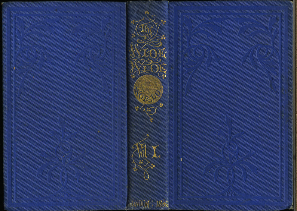 Full Cover of Volume 1 of the 1852 Sampson Low Reprint