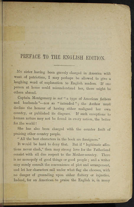 """Page v of the Preface to [1891] James Nisbet & Co. """"New ed."""" Reprint"""