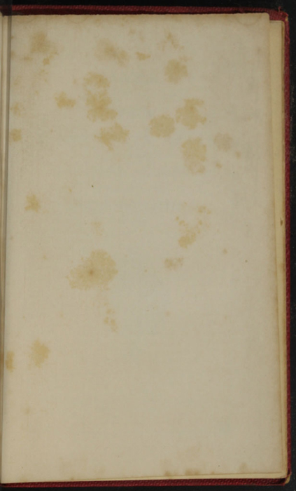 Recto of Back Flyleaf of the 1852 T. Nelson & Sons Reprint, Version 1