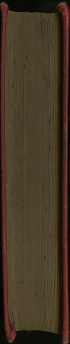 Fore Edge of [1893] James Nisbet & Co. Reprint, Version 2