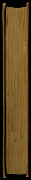 Fore Edge of Volume 1 of the [1903] The Mershon Co. Reprint