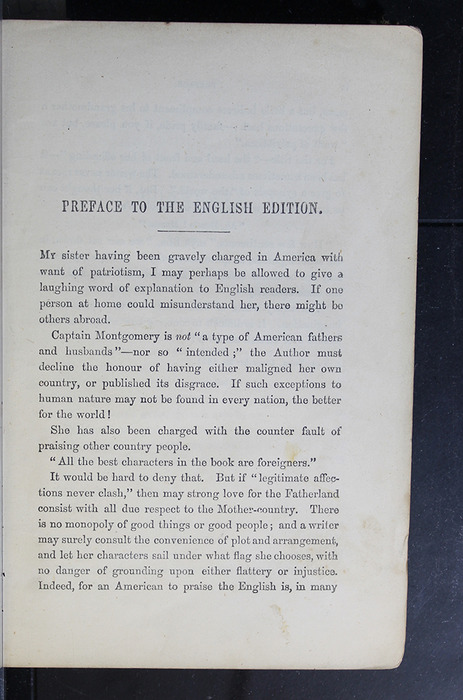 """Page iii of the Preface to the 1886 James Nisbet & Co. """"New Edition"""" Reprint"""