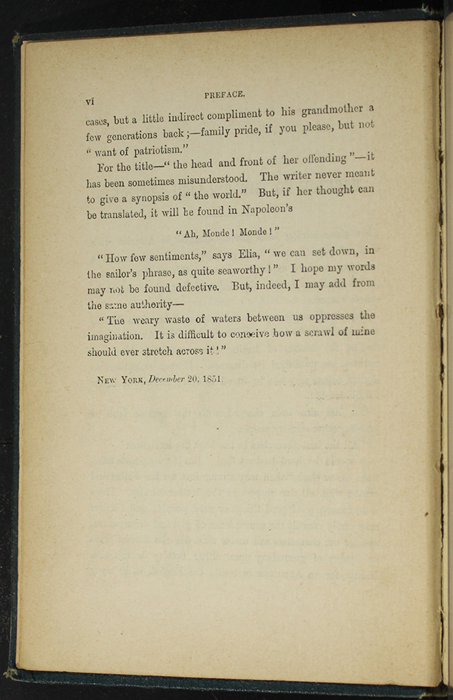 Second Page of the Preface to [1893] James Nisbet & Co. Reprint, Version 1