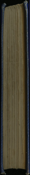 Fore Edge of Volume 1 of the 1852 Sampson Low Reprint<br /><br />