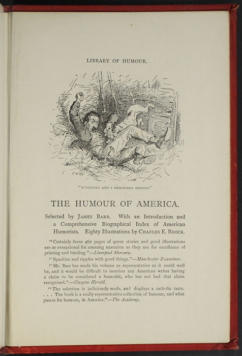 Seventh Page of Back Advertisements in the [1896] Walter Scott, Ltd. Reprint