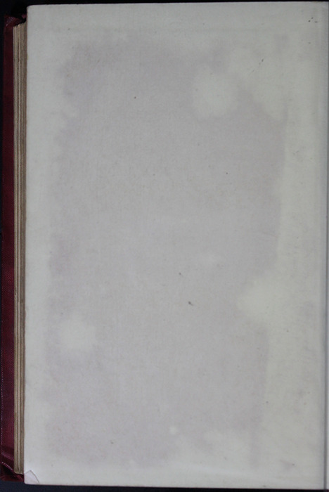 Verso of Back Flyleaf of the [1904] Hutchinson & Co. Reprint