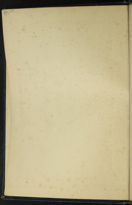 Verso of First Front Flyleaf of [1893] James Nisbet & Co. Reprint, Version 1