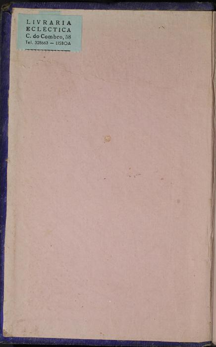 Front Pastedown of the 1853 H. G. Bohn Reprint, Version 1