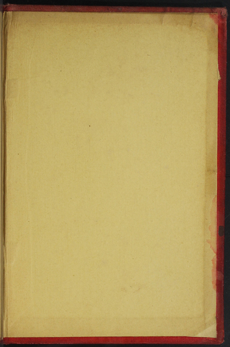 Back Pastedown of [1891] James Nisbet & Co. Reprint