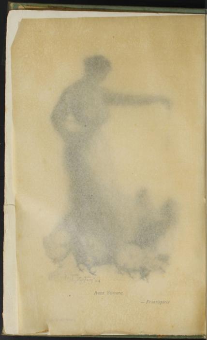 Verso of Tissue Preceding Title Page to the [1910] R. F. Fenno & Co. Reprint