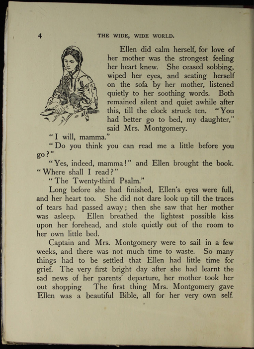 Illustration on Page 4 of the [1918] Thomas Nelson & Sons, Ltd. Abridged Reprint Depicting Mamma