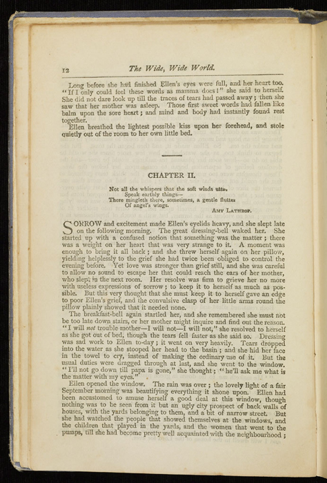 "Example Chapter Break of the [1884] Ward, Lock & Co. ""Lily Series, Complete Edition"" Reprint"