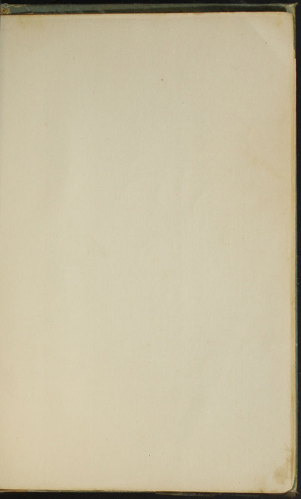Recto of First Back Flyleaf of the [1910] R. F. Fenno & Co. Reprint