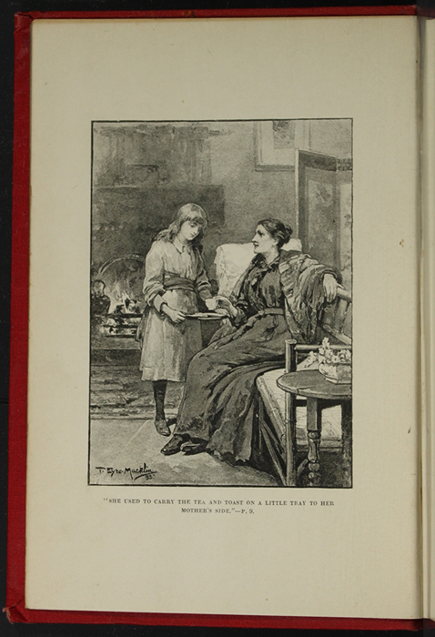 "Frontispiece to the [1896] Walter Scott, Ltd. ""Complete Edition"" Reprint Depicting Ellen Serving Mamma Tea in the Parlour"