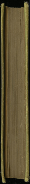 Fore Edge of Volume 1 of the [1898] F. M. Lupton Publishing Co. Reprint