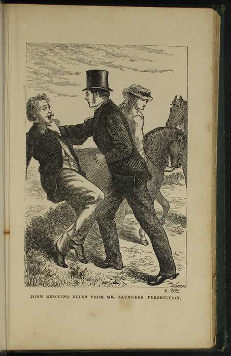 Illustration on Page 262a of the [1879] Milner & Sowerby Reprint Depicting the Horse Whipping Scene