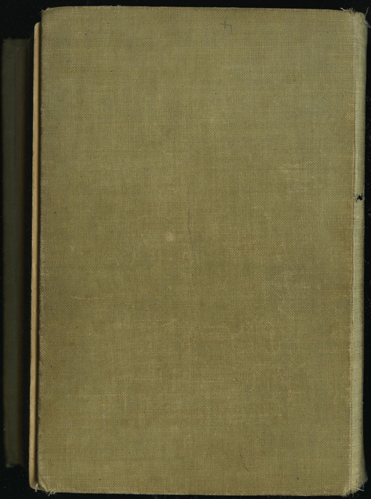 Back Cover of the [1902] H. M. Caldwell Co. Reprint
