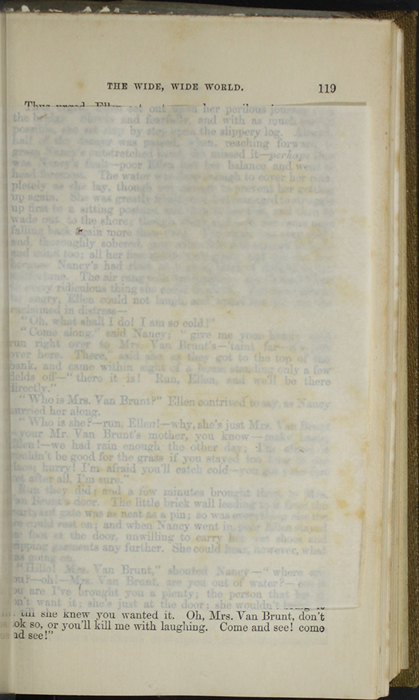 Recto of Tissue Preceding Illustration on Page 118a of the 1853 G. Routledge and Co. Reprint
