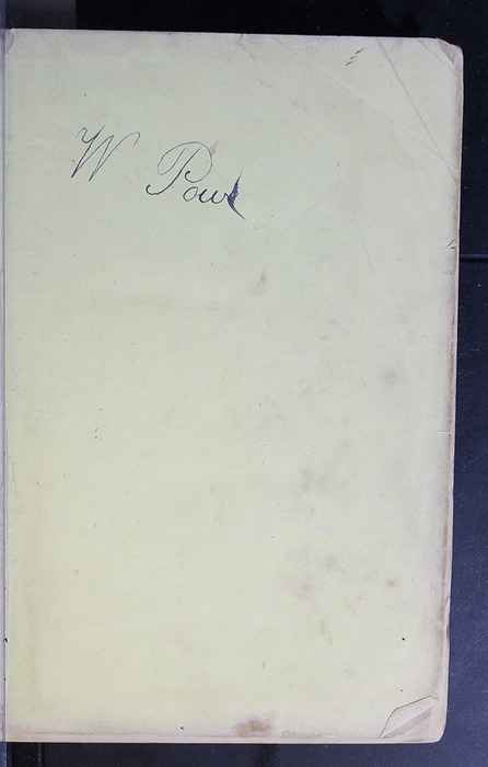 """Recto of Front Flyleaf of the 1886 James Nisbet & Co. """"New Edition"""" Reprint"""