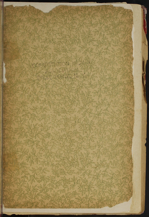 Recto of Front Flyleaf of Volume 2 of the [1902] Home Book Co. Reprint, Version 1