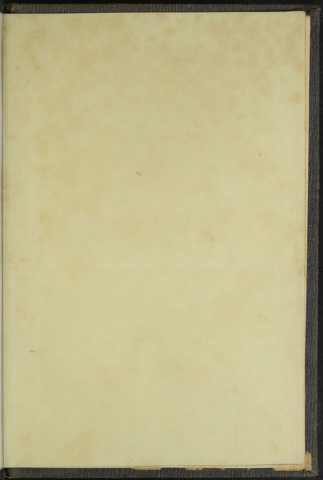 Recto of Second Back Flyleaf of Volume 1 of the 1851 George P. Putnam 1st Edition, Version 3