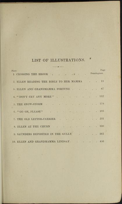 List of Illustrations in the 1853 H. G. Bohn Reprint, Version 1