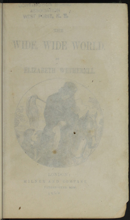 Recto of Tissue Preceding Title Page Vignette to the [1879] Milner & Sowerby Reprint