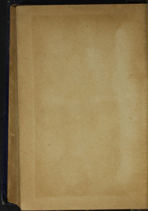 Verso of Back Flyleaf of the [1887] W. Nicholson & Sons, Ltd. Reprint
